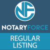 Notary Force Regular Listing
