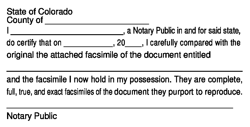 Store Colorado Notary Solutions